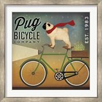 Pug on a Bike Fine-Art Print