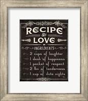 Life Recipes I Fine-Art Print