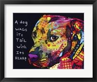 Gratitude Pitbull Fine-Art Print