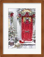 Garland Door Fine-Art Print