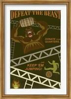 Defeat The Beast Fine-Art Print