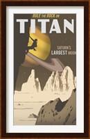 Rock Climbing On Titan Fine-Art Print