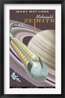 Saturn Midnight Zephyr Fine-Art Print
