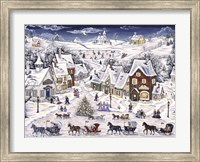 Christmas Sleigh Parade Fine-Art Print
