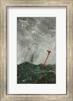 Stormy Sea  Red Stick, 1892 Fine-Art Print