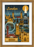 London Evening Ferris Wheel Fine-Art Print