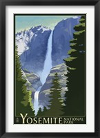 Yosemite Mountains And Trees Fine-Art Print