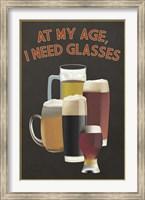 I Need Glasses Of Beer Fine-Art Print