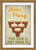 Beer Pong Sink It Fine-Art Print