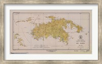 Map of St. John Fine-Art Print