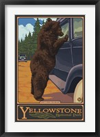 Don't Feed The Bears Yellowstone Fine-Art Print