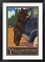 Don't Feed The Bears Yellowstone Fine-Art Print