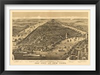 City of New York Map Fine-Art Print