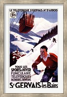 St Gervais Les Bains Ad Fine-Art Print
