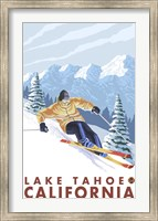 Lake Tahoe Mountain Ski Fine-Art Print