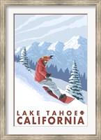 Lake Tahoe Moutain Snowboard Fine-Art Print