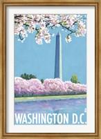 Washington DC Monument Ad Fine-Art Print