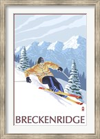 Breckenridge Ski Ad Fine-Art Print