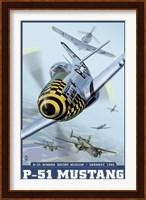 P-51 Mustang Airplane Ad Fine-Art Print