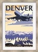 Denver Airport Ad Fine-Art Print