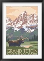 Grand Teton National Park Moose Fine-Art Print