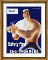 Safety First Keeps Him on the Job Fine-Art Print