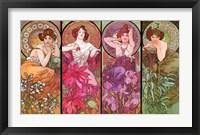 Topaz Ruby Amethyst Emeraude Fine-Art Print