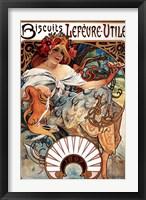 Biscuits Lefevre-Utile Fine-Art Print