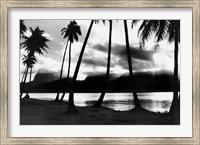Sunset at Raiatea, French Polynesia Fine-Art Print