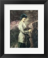 Pretty Golf Girl Fine-Art Print