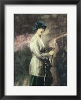 Pretty Golf Girl Fine-Art Print