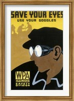 WPA Save Your Eyes Fine-Art Print