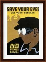 WPA Save Your Eyes Fine-Art Print