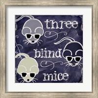 Chalkboard Nursery Rhymes II Fine-Art Print