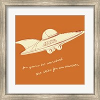 Lunastrella Flying Saucer (square) Fine-Art Print
