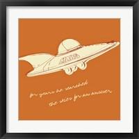 Lunastrella Flying Saucer (square) Fine-Art Print