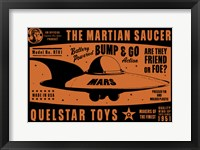 Quelstar Mars Saucer Fine-Art Print