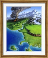 A Montage of Earth Fine-Art Print