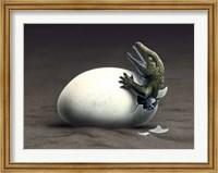 Seymouria Hatching Fine-Art Print