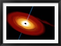 Black Hole in Space Fine-Art Print