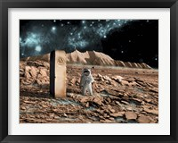 Astronaut on an Alien World Fine-Art Print