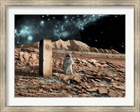 Astronaut on an Alien World Fine-Art Print