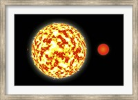Binary Star System and Planets Fine-Art Print