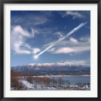 Large Meteor Entering Earth Fine-Art Print