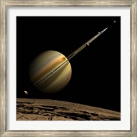 Ringed Gas Planet Fine-Art Print