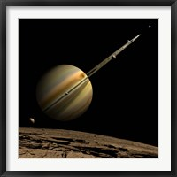 Ringed Gas Planet Fine-Art Print