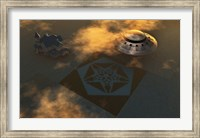 Crop Circles made by Extraterrestrials Fine-Art Print