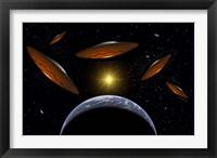 Flying Saucers Fine-Art Print