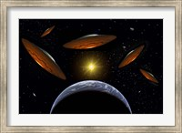 Flying Saucers Fine-Art Print