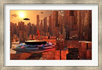 Alien Race Migrating Fine-Art Print